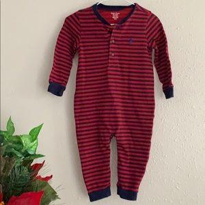 Ralph Lauren Striped Outfit - 12 months